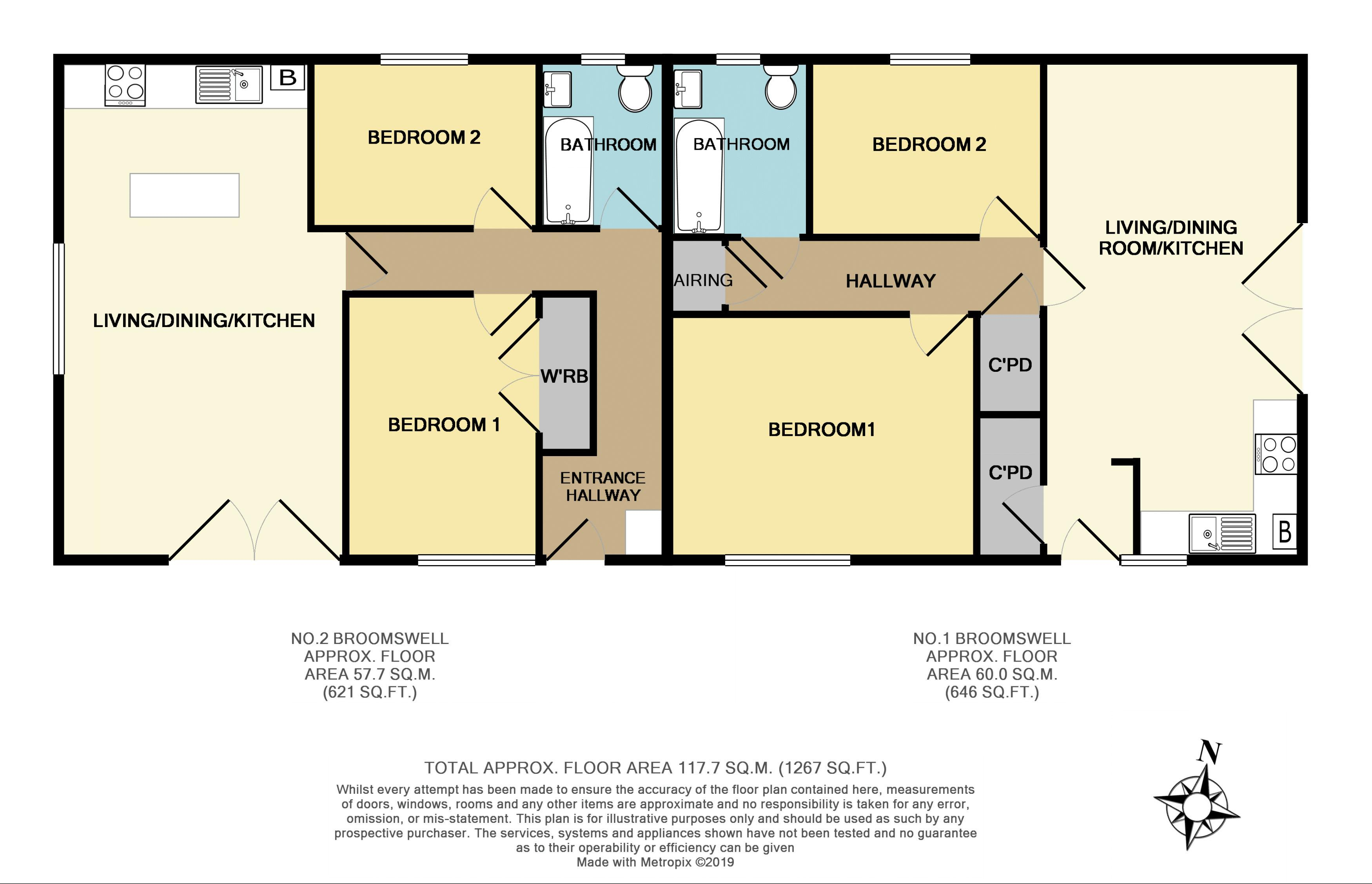 Both Floorplan - Colour