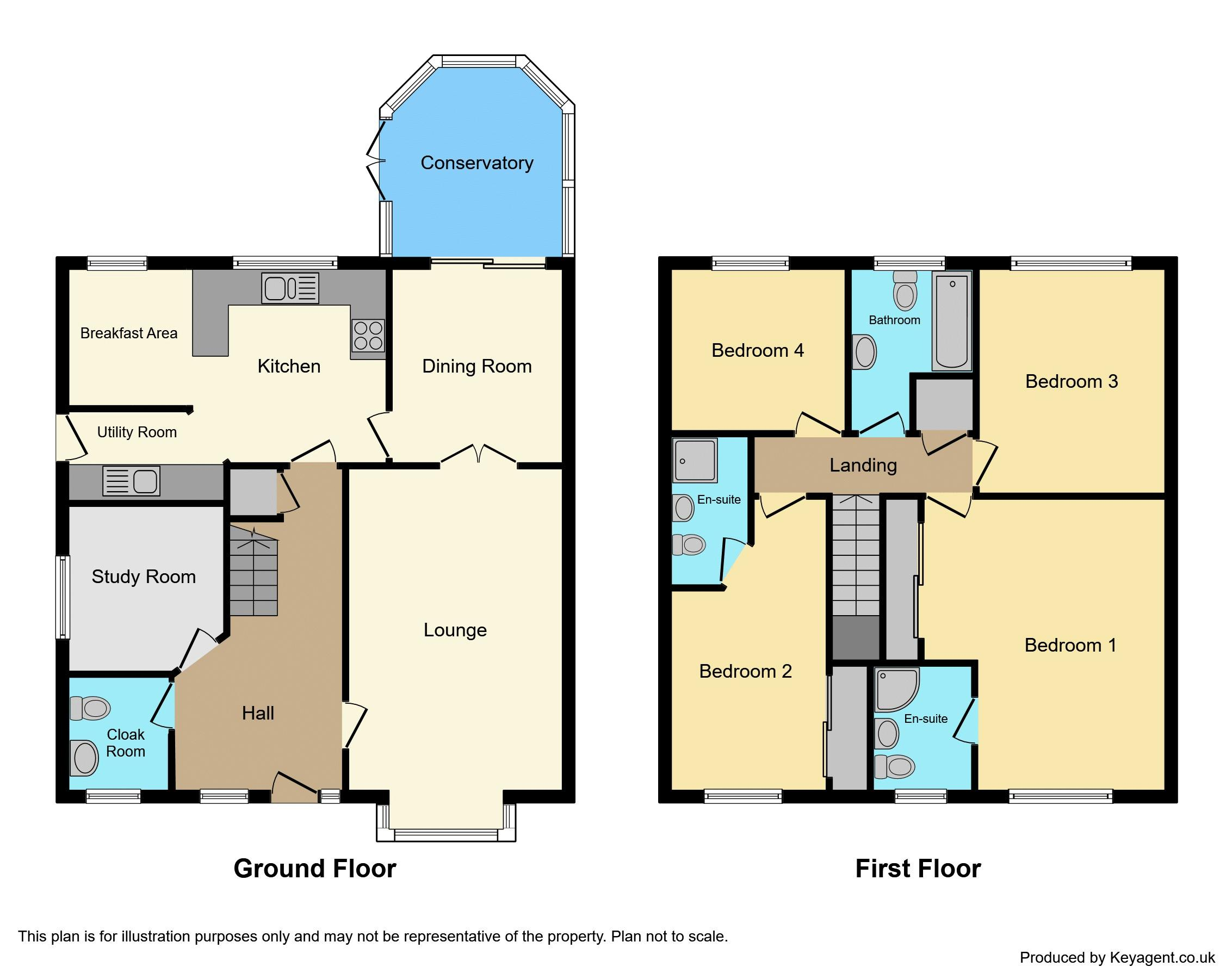 Floorplan - Colour