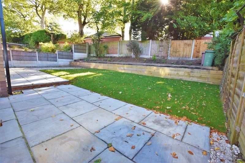 Enclose landscaped garden
