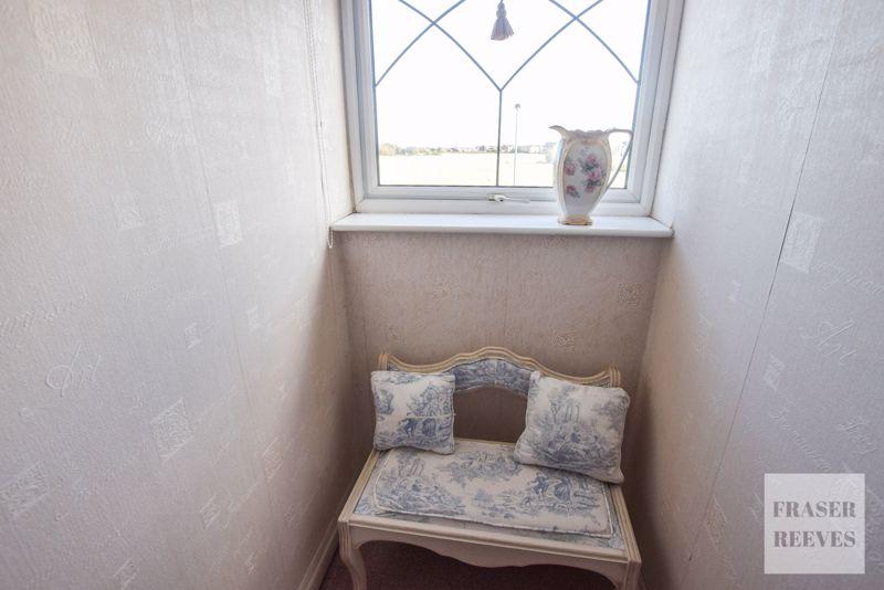 DORMER WINDOW WITH FARMLAND VIEWS