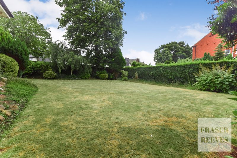 Lawn looking to front
