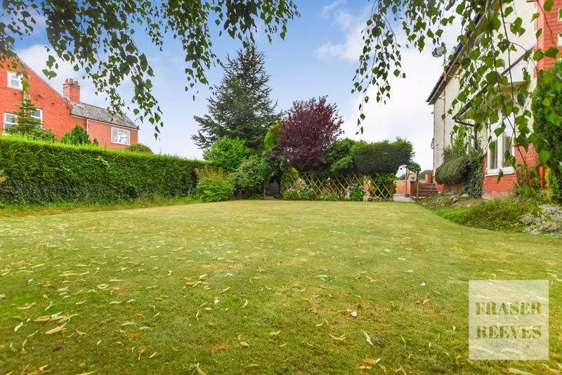 Lawn looking to rear