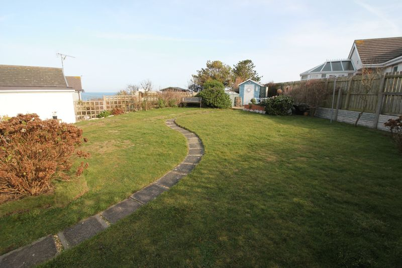 Rear Garden with View of Sea