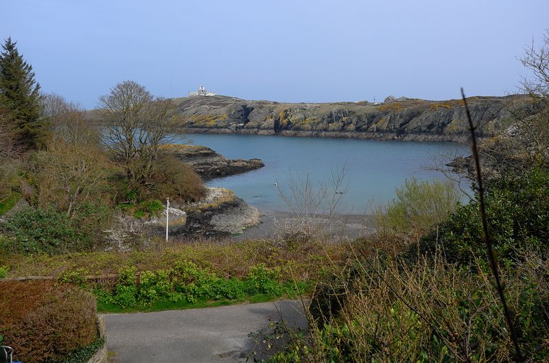 view of cove to lighthouse