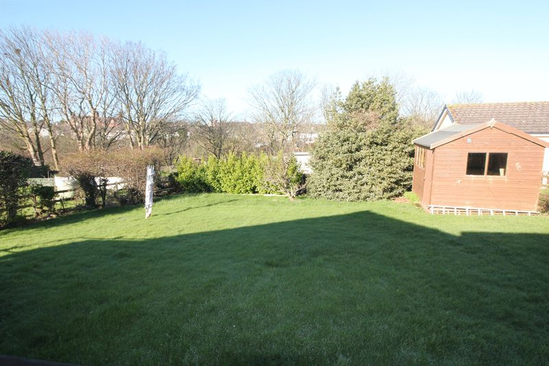 rear garden looking to river valley