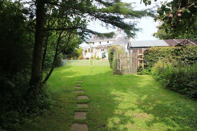 rear and garden
