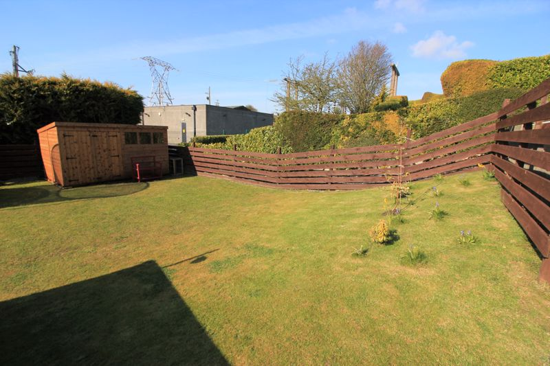 rear garden ( rented)
