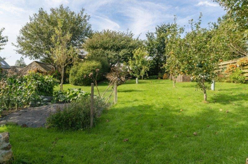 The formal gardens/veg plot