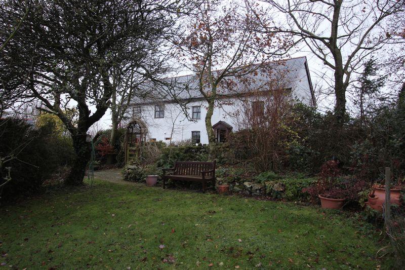 Garden to the Main House