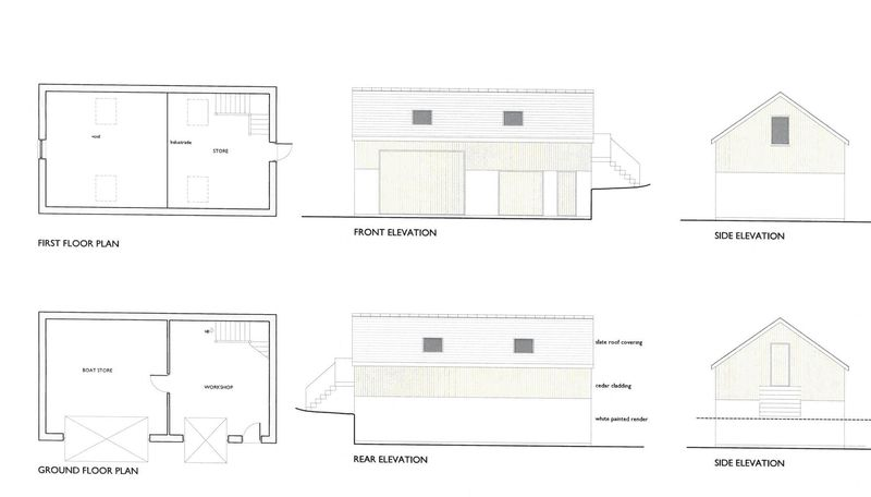Plans for Boathouse and workshop