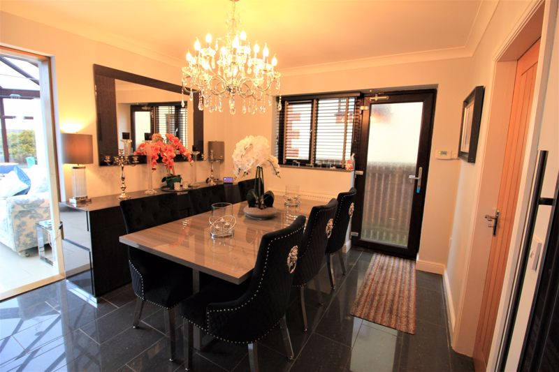 Dining area to conservatory