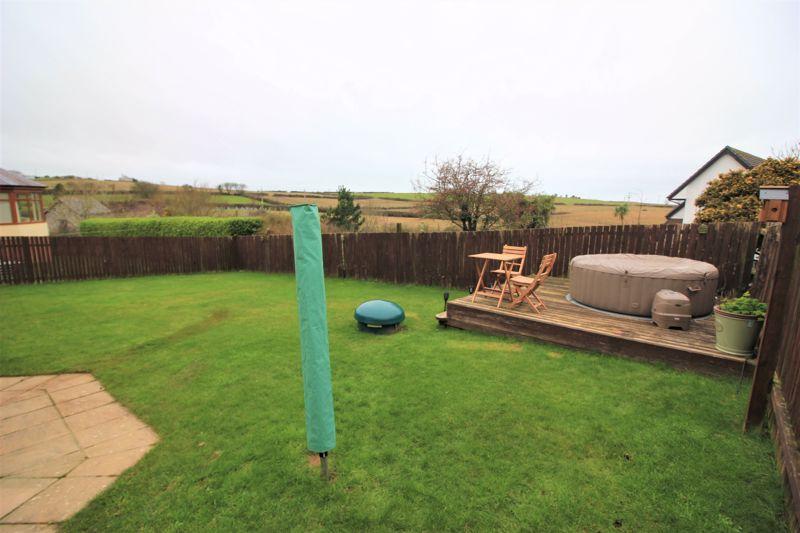 Rear garden and decking