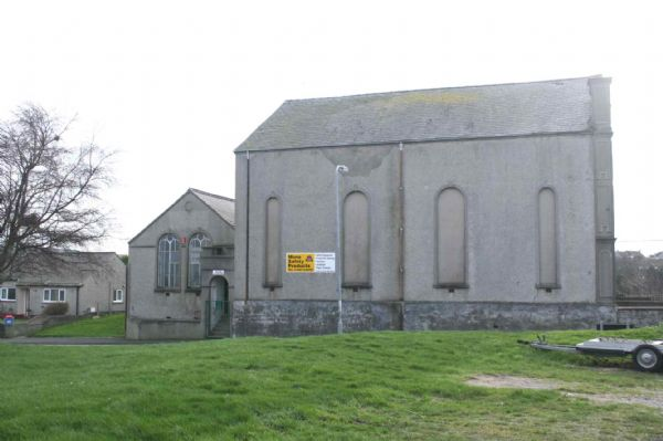 Side of Chapel from road