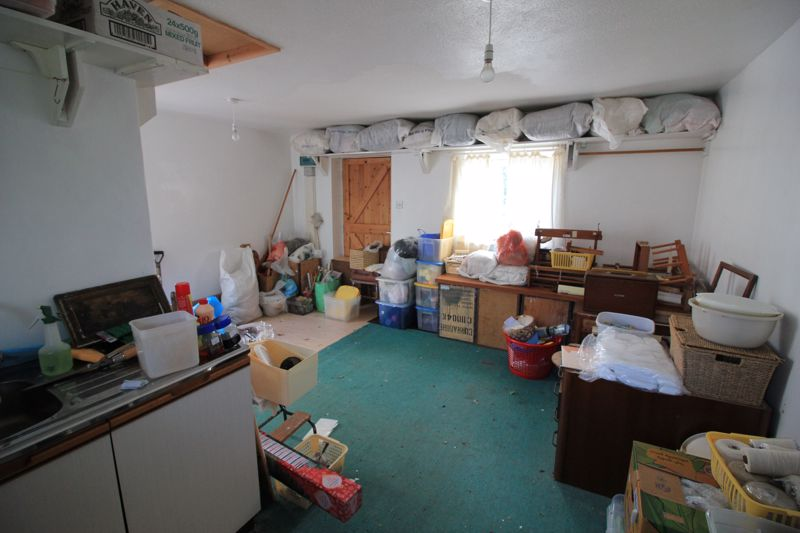 Interior of annex/studio