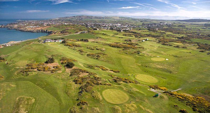 Golf course and Amlwch Coastline