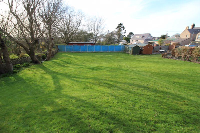 rear garden plot