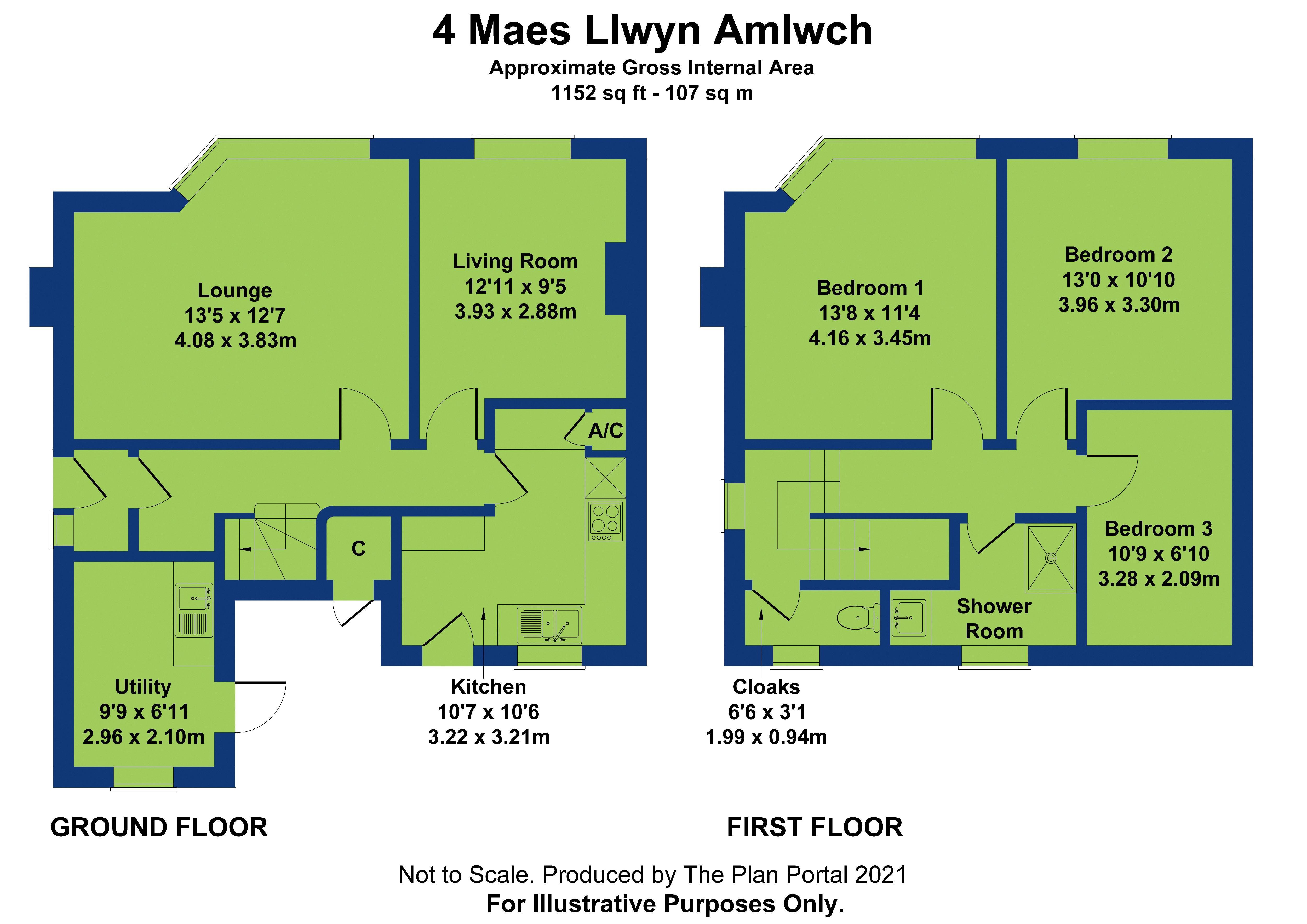 4 maes llwyn