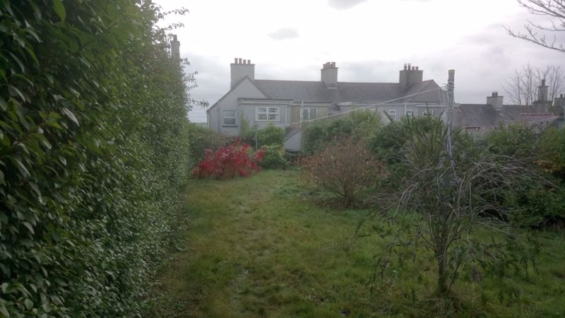 Rear Garden Looking Towards the Property