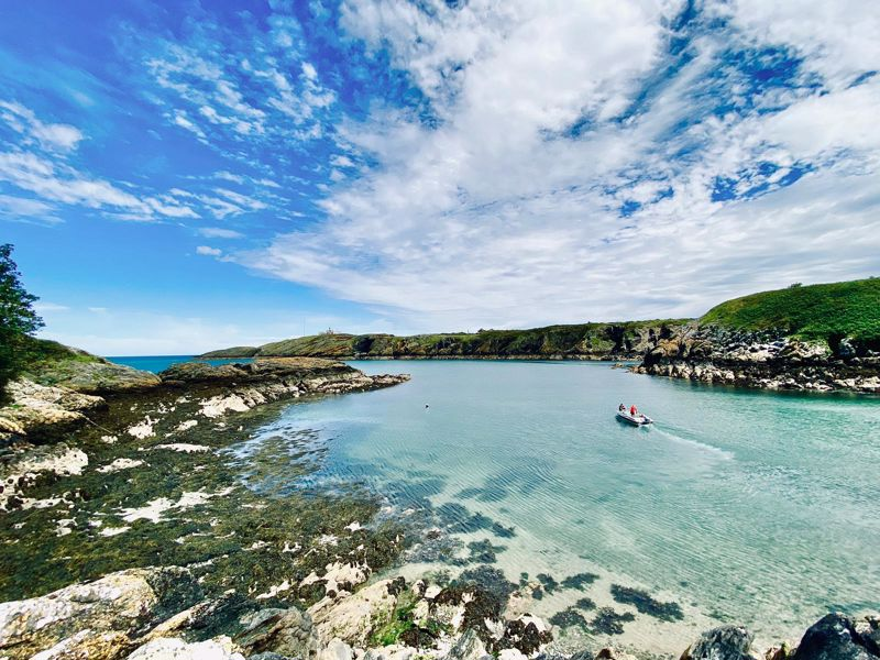 Porth Eilian Cove