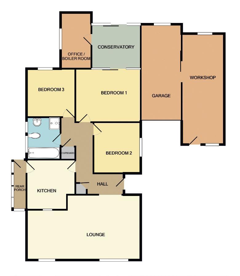 Floor Plan 1 Garregwen