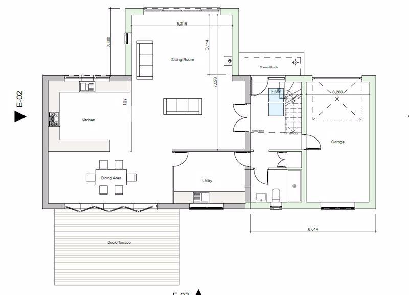 Original proposed plans - not actual