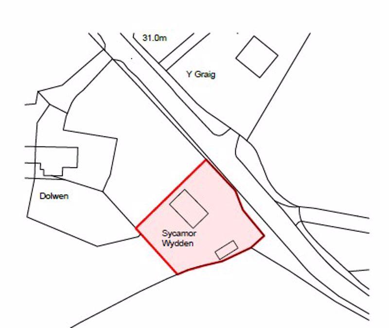 Site Plan of original Bungalow