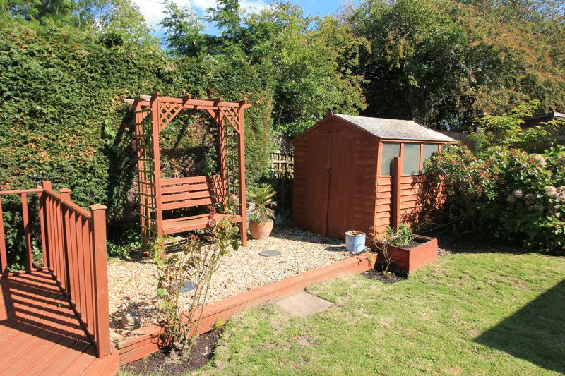 Decking Area & Shed