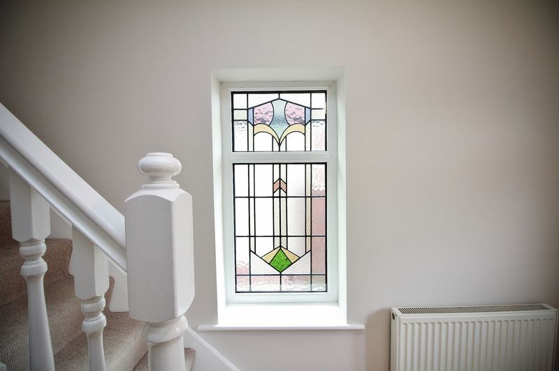Feature Stain Glass Windows