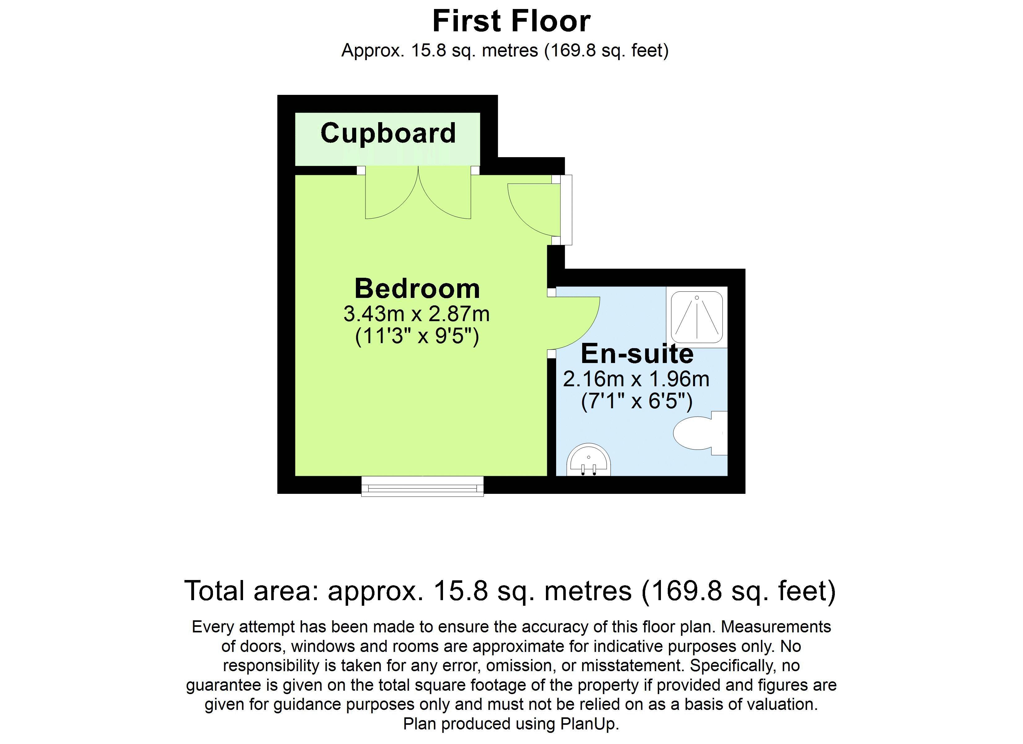 Pickering Row 1st Floor REAR room