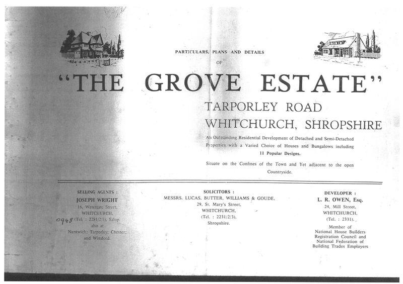 The Grove Tarporley Road