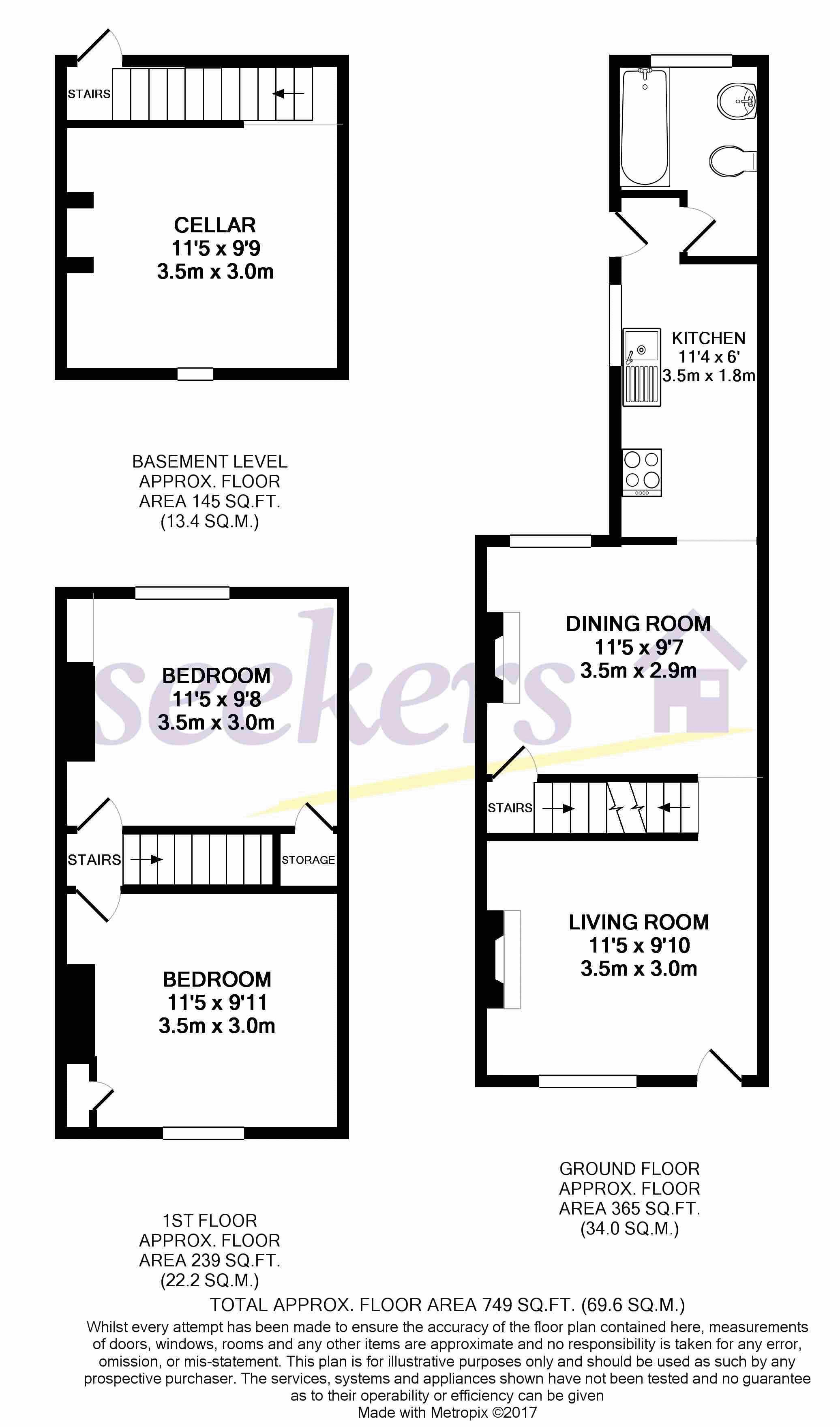 129 Britton Street Floorplan