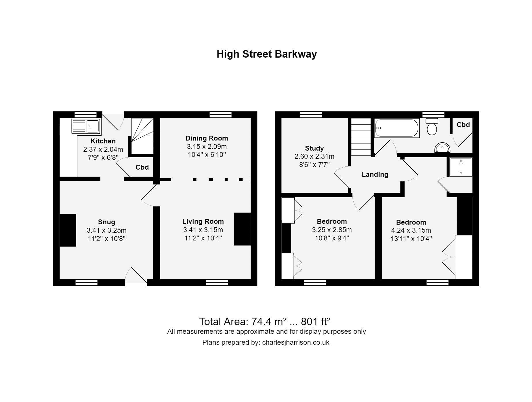High Street Barkway