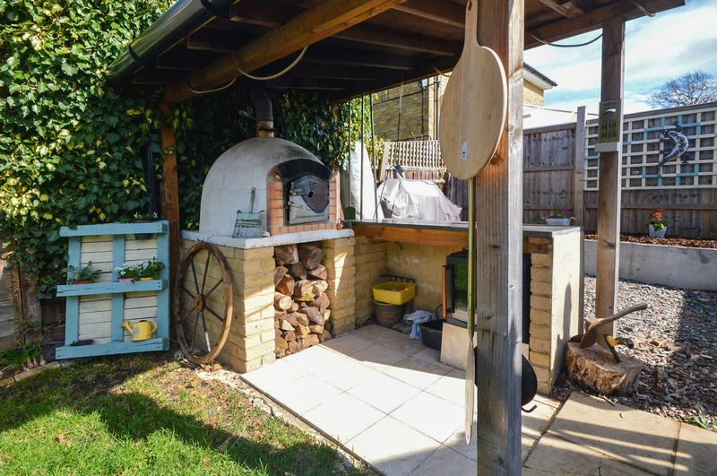 Pizza Oven Area