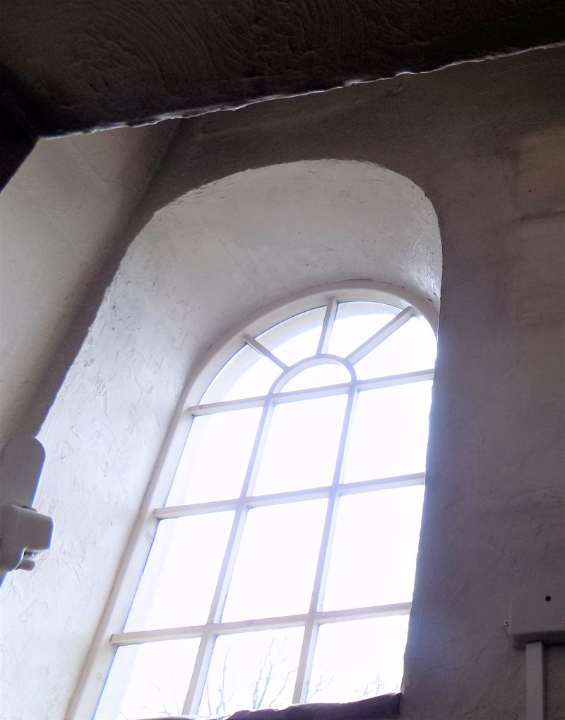 Arch Chapel Window
