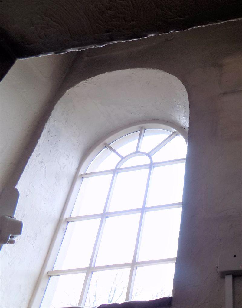 Arch Chapel Window