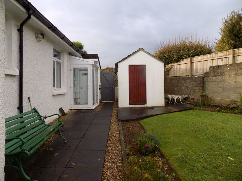 Rear Garden with Side Access