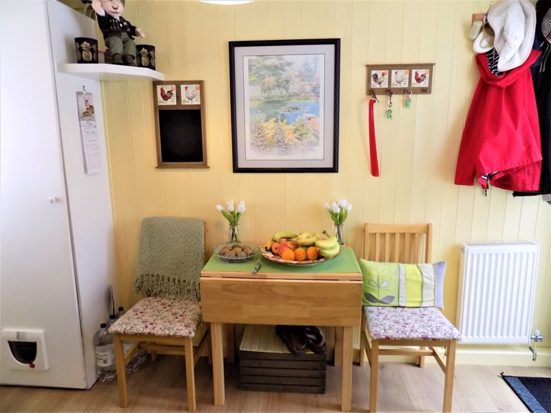 Dining Area with Utility Space