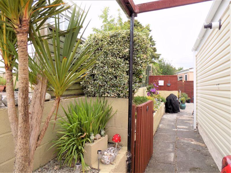 Gated Entrance to Rear Garden