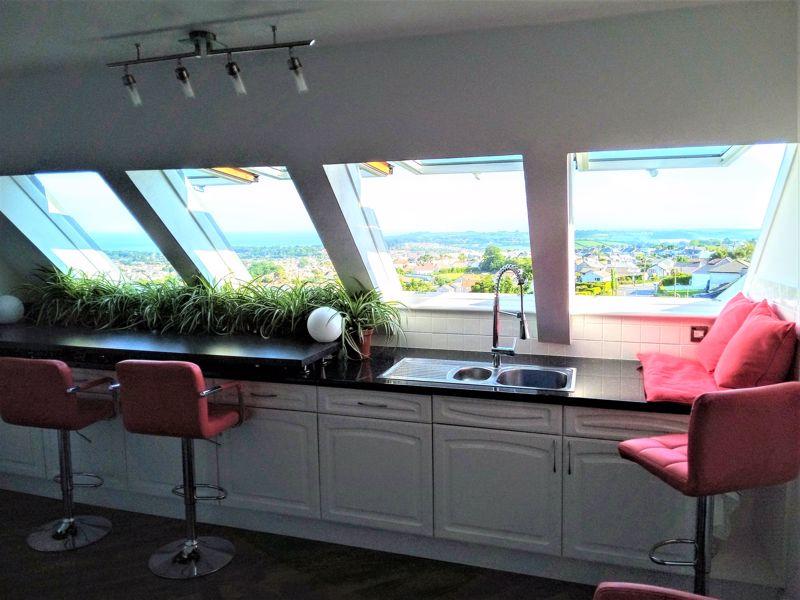 Kitchen Views Across the Bay