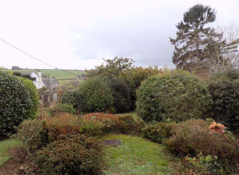 Rear Garden with Countryside Views