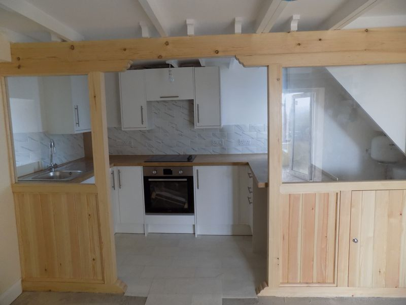 Decorative Opening to Kitchen