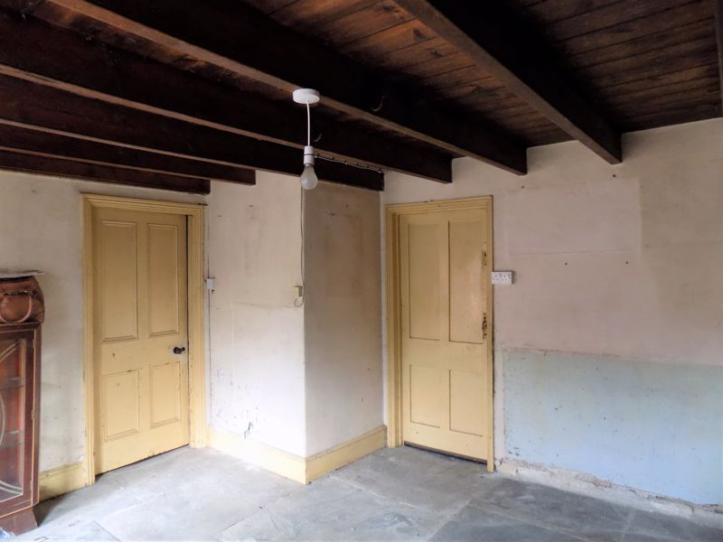Kitchen Doors to Pantry and Inner Hall