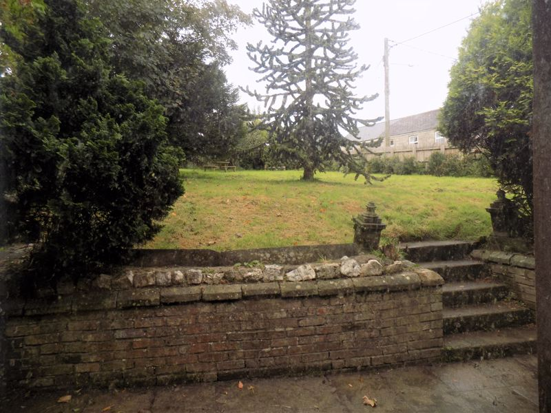 Steps to Front Garden