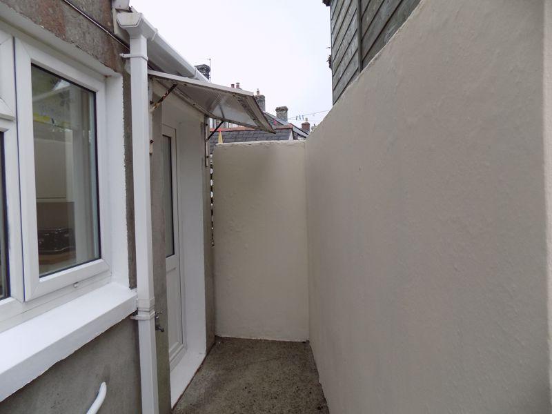 Canopied Rear Door