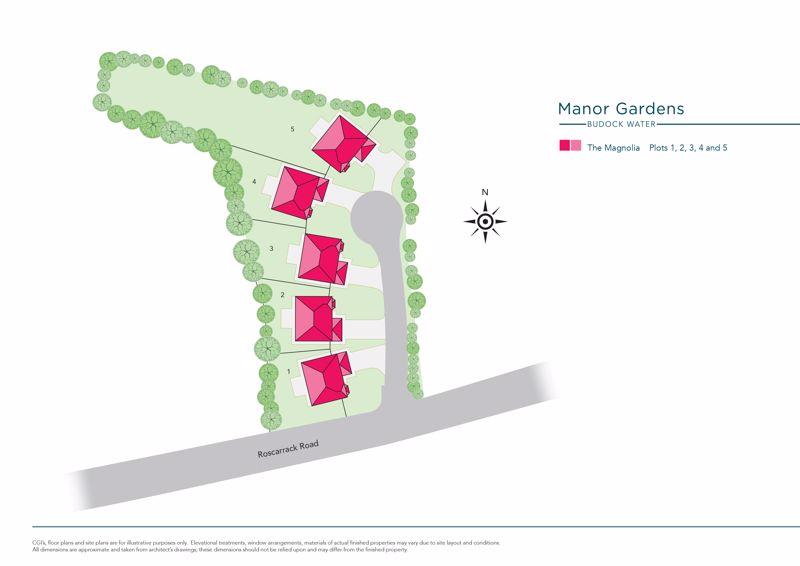Manor Gardens, Maen Valley Budock Water