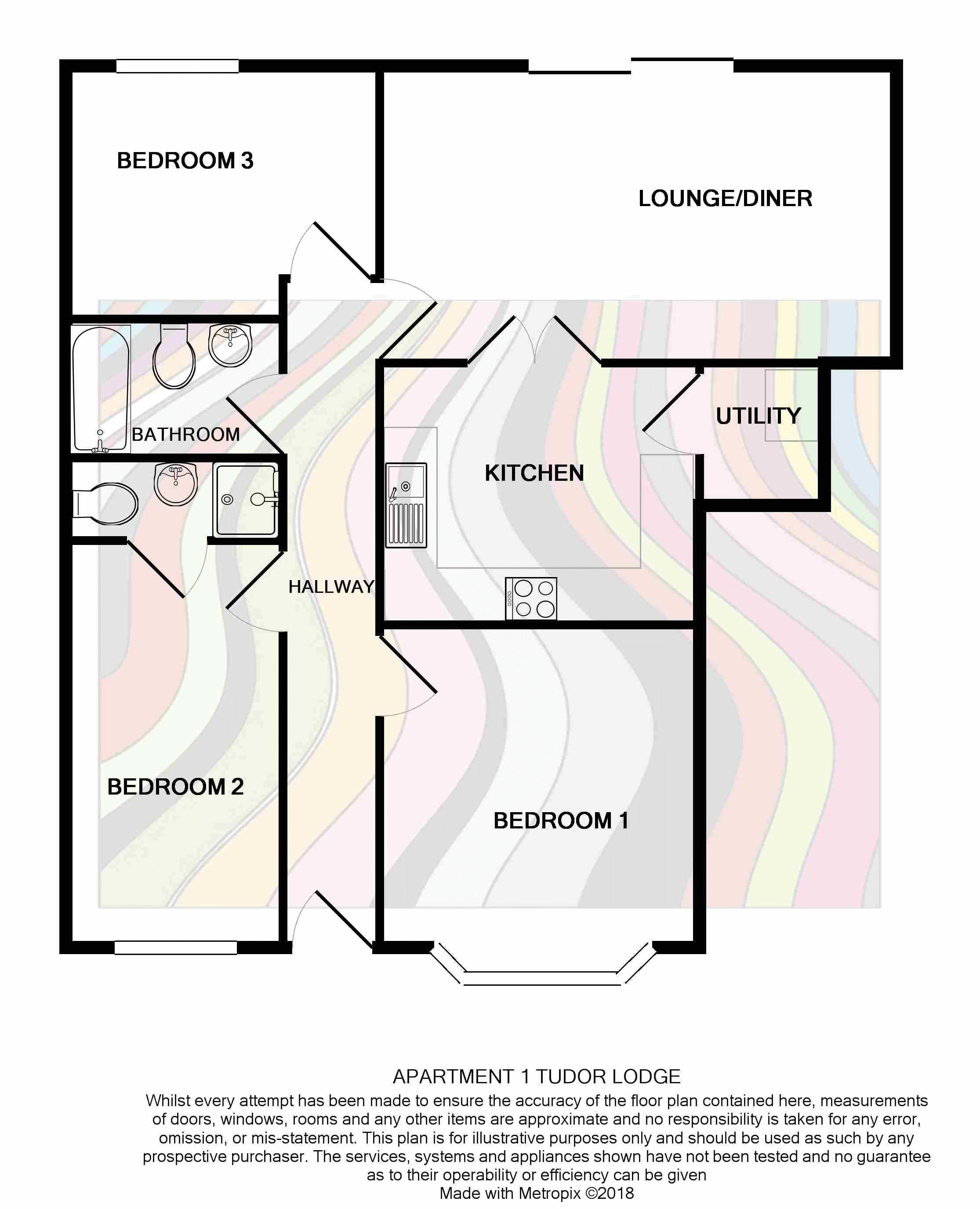 Apartment 1 Tudor Lodge