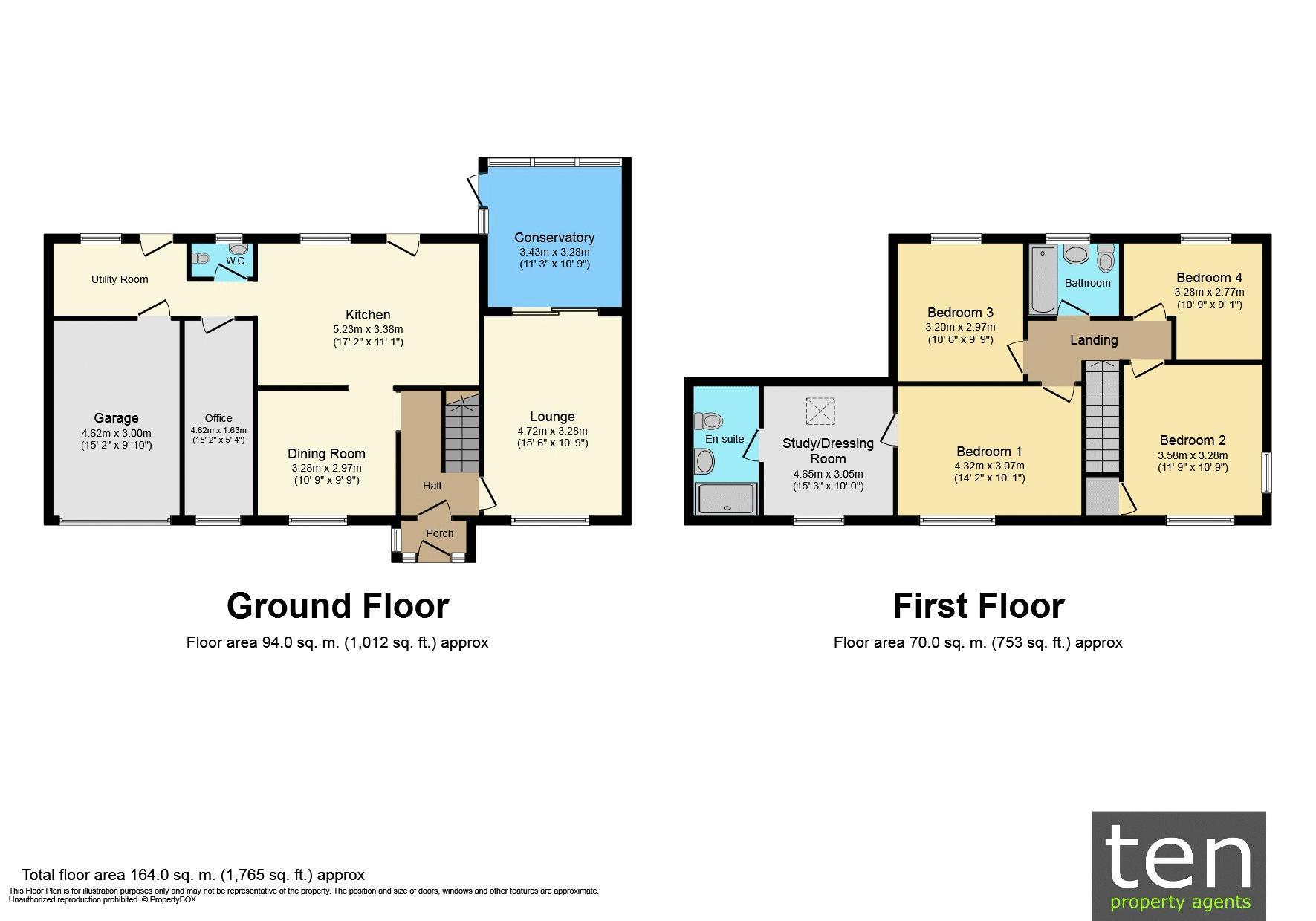 Floor Plan Main House