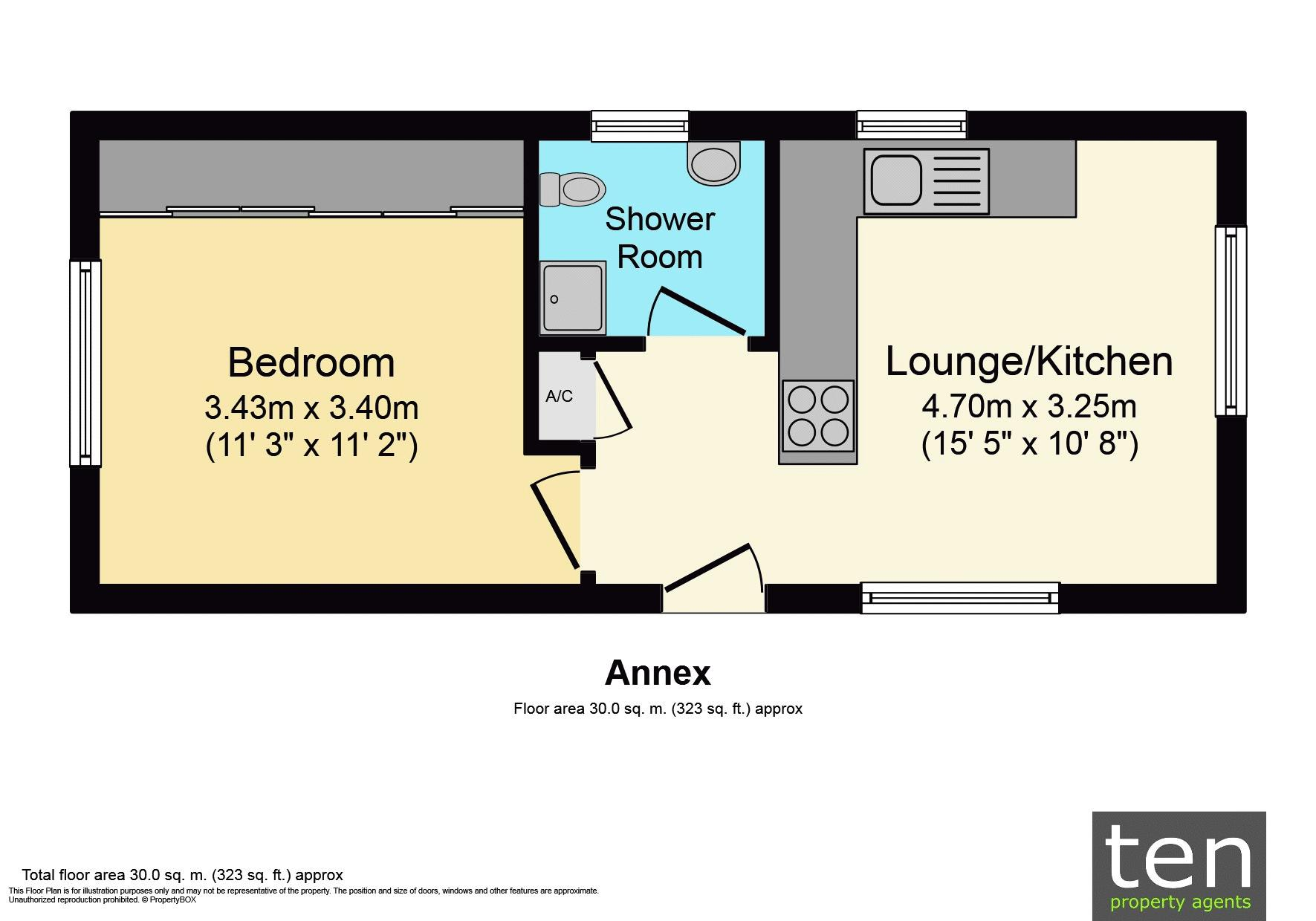 Floor Plan Annex