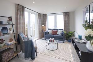 Show flat - living room