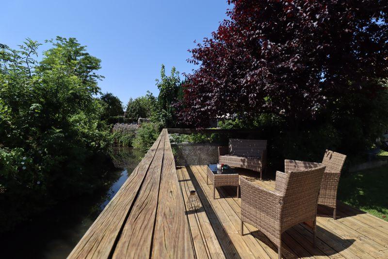 Deck & River View